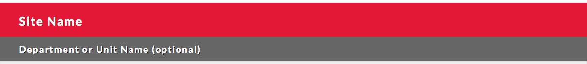 Red Title Bar screenshot